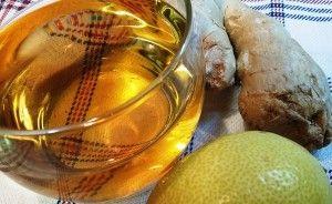 Infusion jengibre limon Herbolario Mejorana