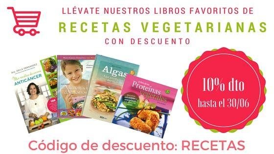 Descuento libros vegetarianos