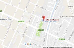 Herbolario mejorana maps