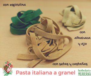 Pasta italiana a granel Herbolario Mejorana - Guadalajara