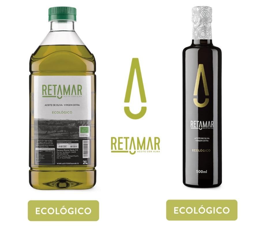 Aceite oliva virgen extra ecológico Retamar