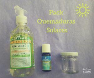 Pack Quemaduras Solares
